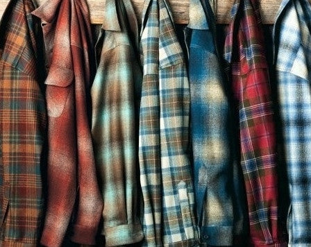 Flannel Shirts, Unisex Mystery Vintage, All Sizes