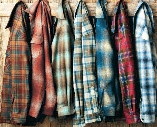 Vintage Mystery Hipster/Grunge Flannel Shirts/Multi Colors & Styles-All Sizes!!