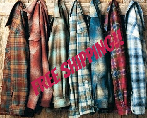 Hipster Mystery Flannel Shirts - All Colors & Sizes