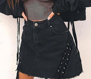 The Rocking Black Skirt, All Sizes