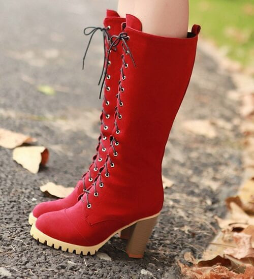 Boots Laceup super cool, All Sizes & Colors