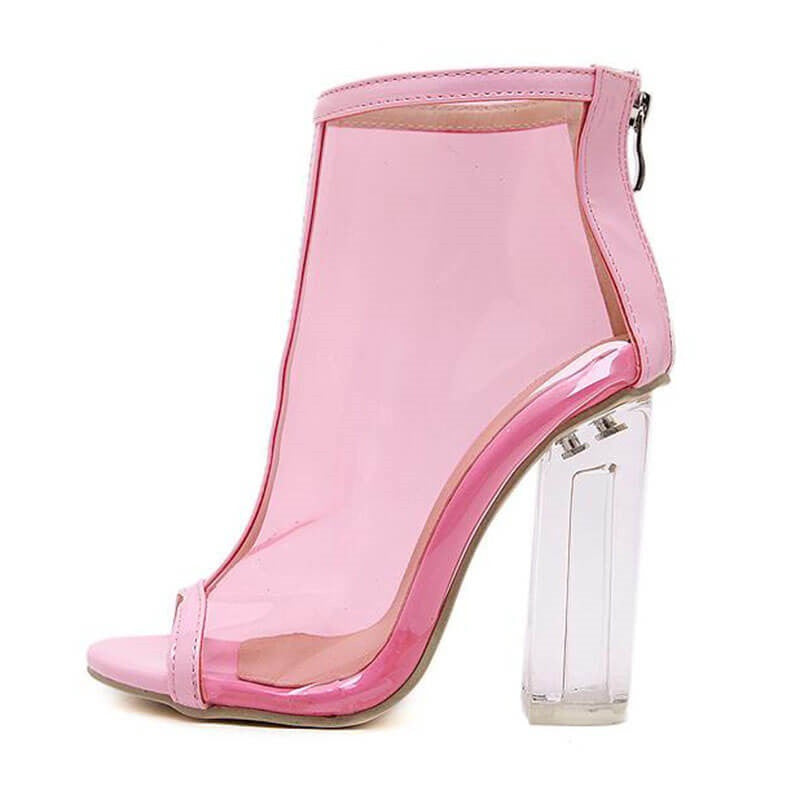 Pink Party Boots, All Sizes