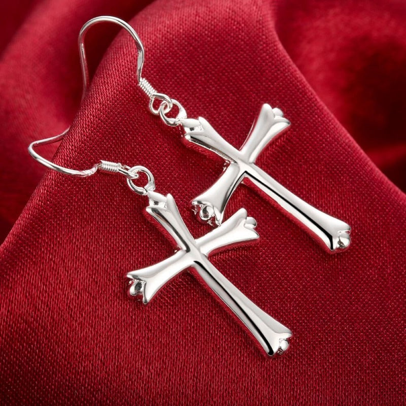 These Cool Cross Earrings!