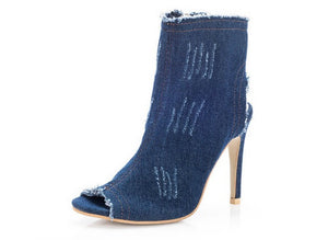 Denim Debbie Shoes, All Sizes