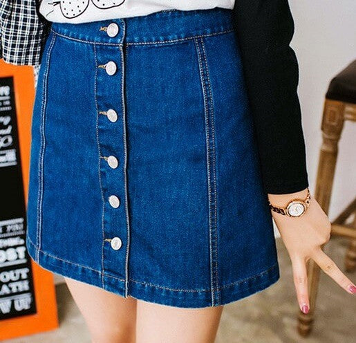 The Sweet Girl Skirt, Denim Shirts, all Sizes