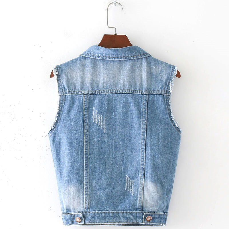 Denim 4 Days Vest, All Sizes!