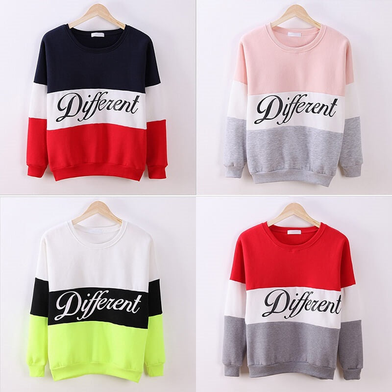 Be Different! All Colors & Sizes.
