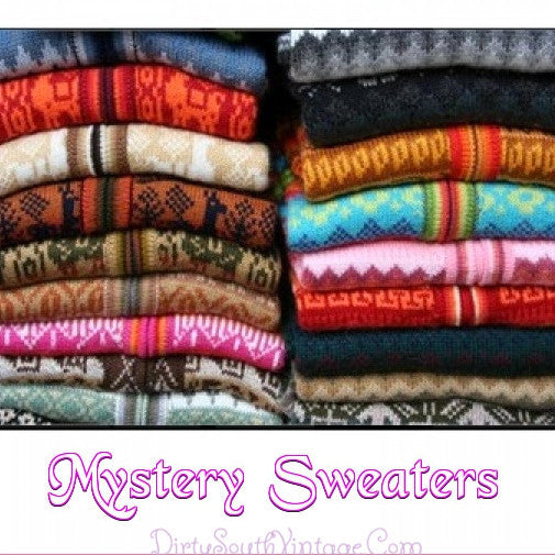 Mystery Hipster Sweaters!!