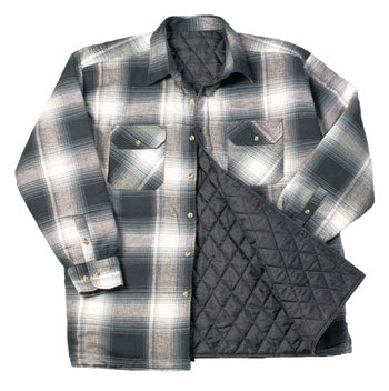 Mystery Lined Quilted Flannel Shirt/Jacket, Warm, Soft & Comfy, All sizes/colors