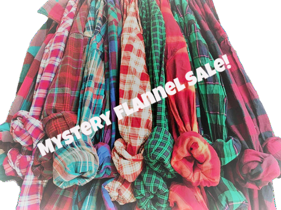 9.99 FLASH SALE-Mystery Flannels shirts. Fall Flannel Sale!