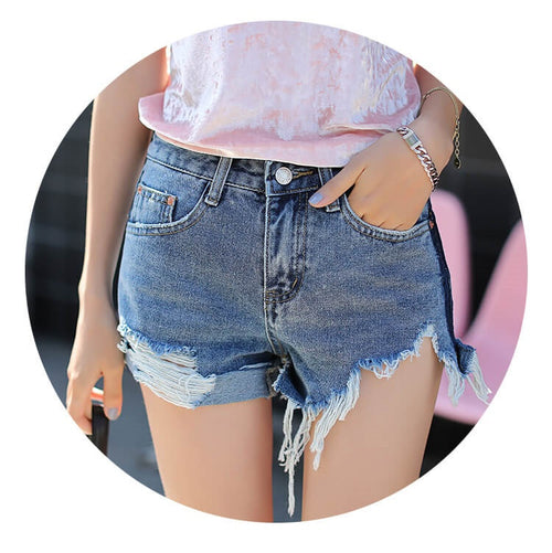 High Waist Shorts, Messy Cuts, All Sizes