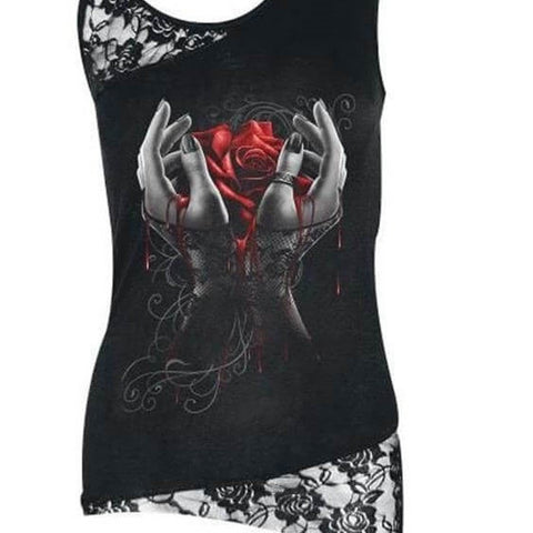 That Cool Tank Top Skull Shirt, All Sizes & Plus!