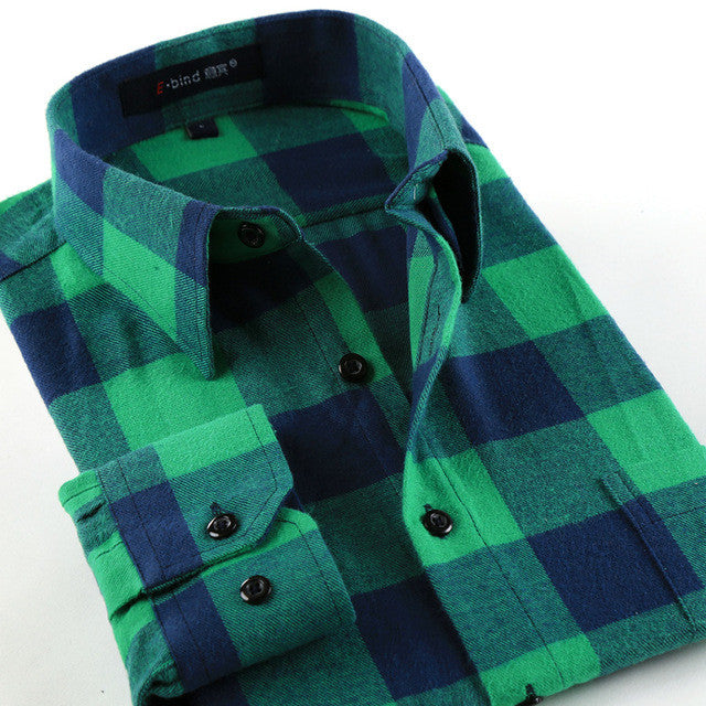 Green Flannel Shirts For All Seasons!! All Sizes- For the Hipster in you!!