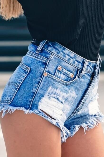 Limited Stock, Denim Mystery Shorts Cutoffs, All Sizes