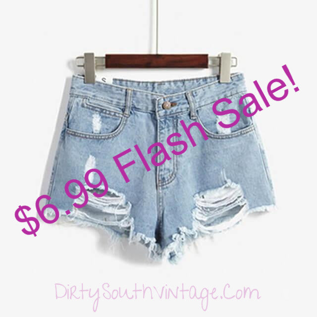 #OMG $6.99 SALE, ALMOST OVER SALE, High Waist Shorts, All Sizes