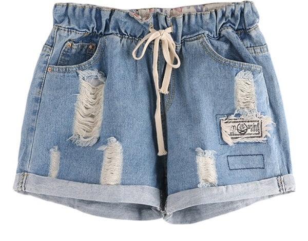 b74854bbf722 High Waisted Drawstring Shorts, Distressed & Super Cute! All Sizes –  DirtySouthVintage.com