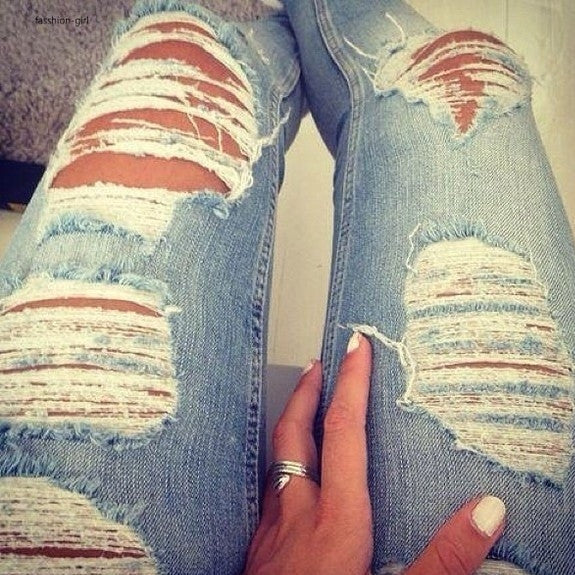 Mystery Distressed Jeans!! Super Cool: All Sizes & Washes!