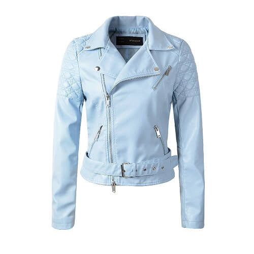 Ladies Motorcycle Jacket , All Sizes & Colors