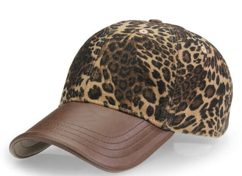 The Leopard Lady Snapback Cap!