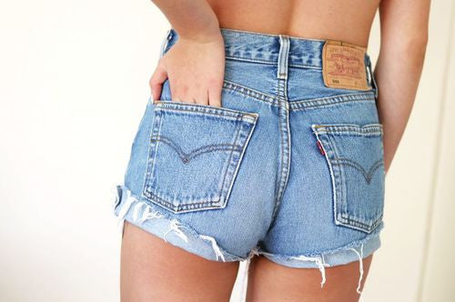 where to find levi high waisted shorts