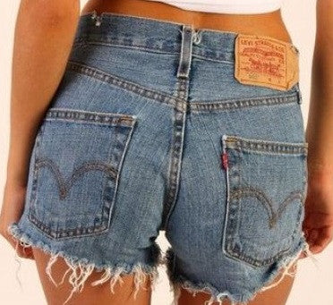 242f13675e Mystery Levis High Waisted Denim Shorts: All Sizes & Washes –  DirtySouthVintage.com