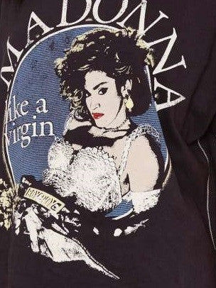 Festival Band Graphic Tee Shirt,Sexy & Rocker! All Sizes - (Madonna)