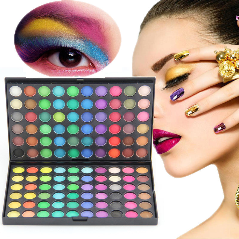 Beautiful Makeup 120 Color Fashion Eye Shadow Palette
