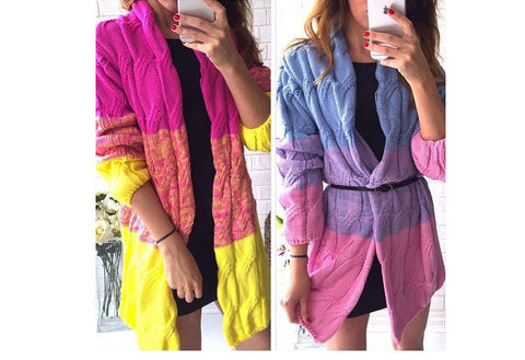 Mystery Multi Color Style Cardigan, All Colors & Sizes