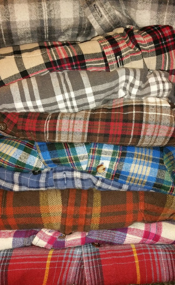 Awesome Mystery Flannel Shirts, All Sizes & Colors