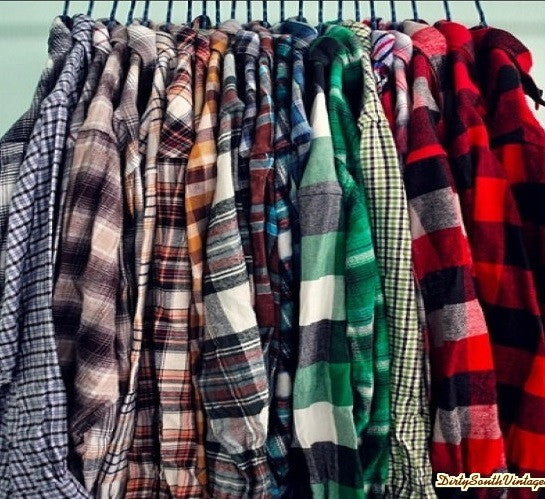 Soft Worn Flannel Shirts, Mystery Flannels, All Colors & Sizes!!