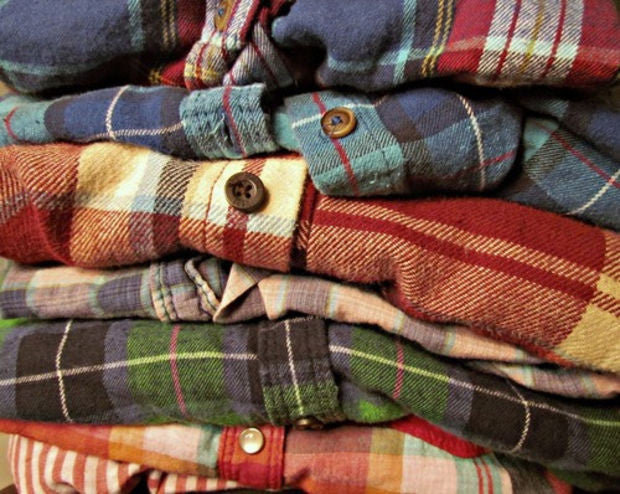 FLASH SALE -Unisex Mystery Vintage Inspired Flannel Shirts - All Colors & Sizes