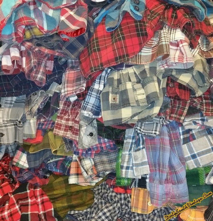 Sale - Mystery Flannel Shirts, Many Colors & Sizes