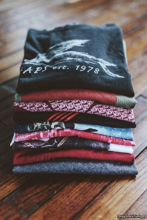 Vintage Mystery T-Shirt: Hipster Grunge Graphic Tee - Pick Your Sizes
