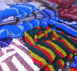 Mystery D-Rugs, Vintage Pullover Mexican Style Rugs!! Baja Hoodies