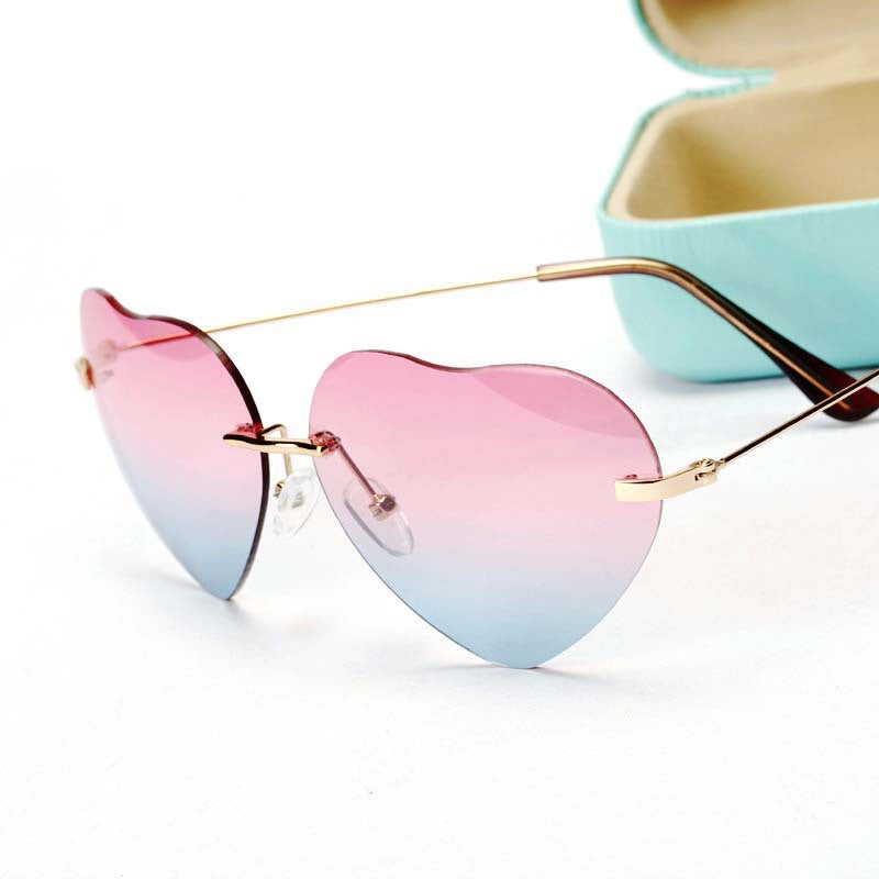 Mystery Heart Hipster Sunglasses, Super Cool!!