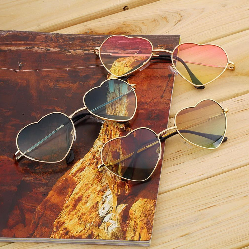 Mystery Heart Hipster Sunglasses, Super Cutel!!