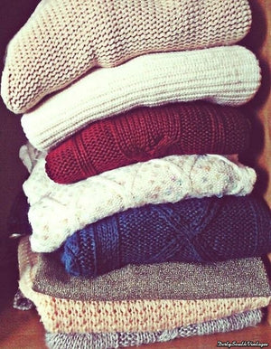 Awesome Mystery Sweaters - Over-sized Mystery Sweaters: All Hipster Colors - All Grunge Patterns.