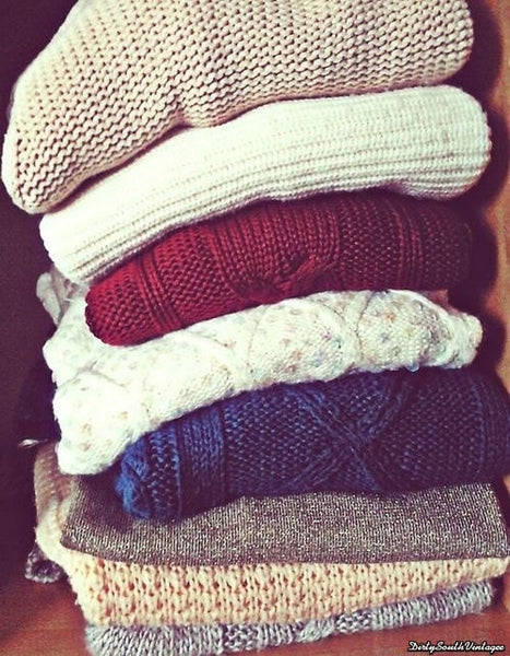 Mystery Hipster Boho Sweaters - Over-sized Sweaters: All Hipster Colors - All Grunge Patterns.