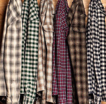 Mystery Vintage/Vintage Inspried Flannels: All Sizes & Colors