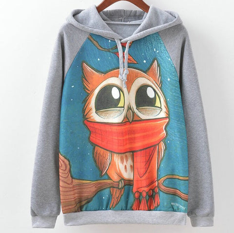 Sweatshirt Hoodie, Very cute, many colors, all sizes