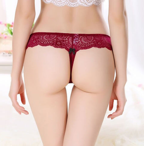 Sexy G String Lace Panties, All Panty Sizes
