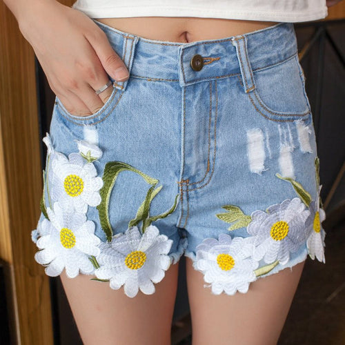 Cute Flower Shorts, All Sizes
