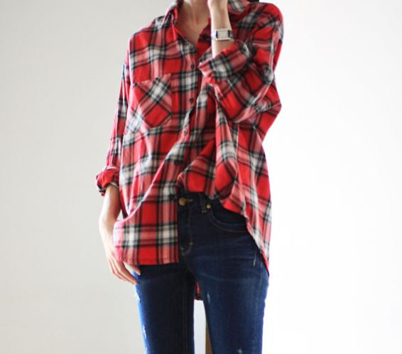 Vintage Mystery Hipster Flannel Shirts - All Colors & Sizes