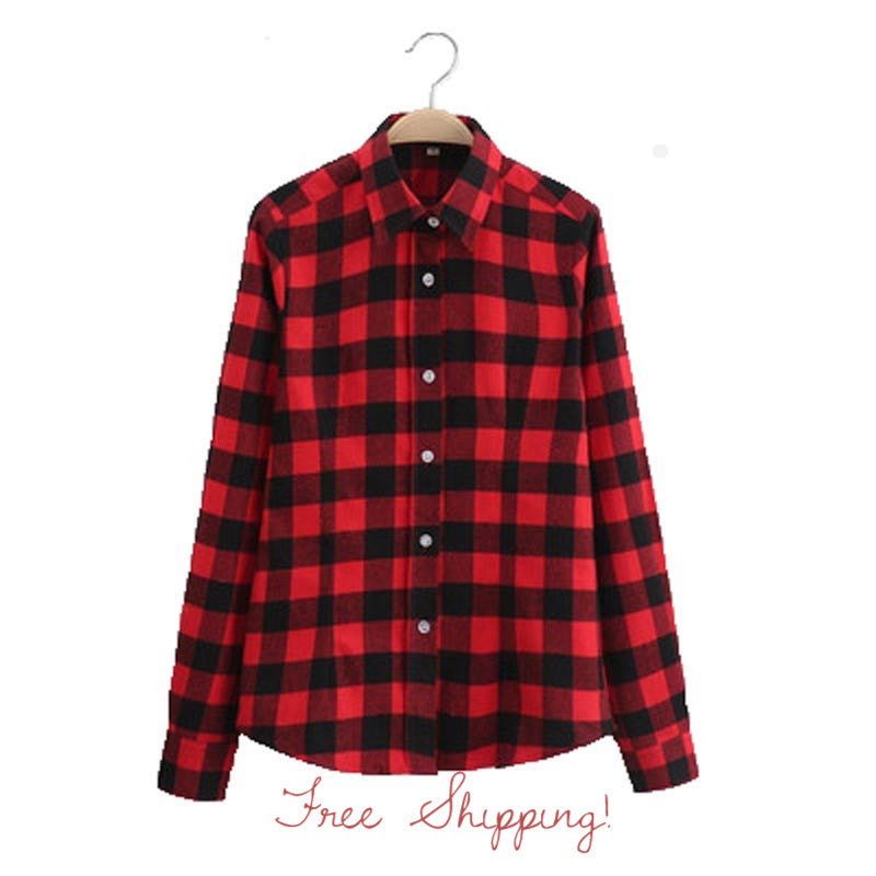 Red Flannel Shirts For All Seasons!! All Sizes- For the Hipster in you!!