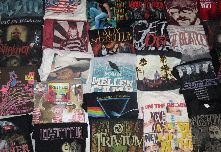 Mystery Vintage/Vintage Inspried Rock Band Tee Shirts- All Bands & Sizes