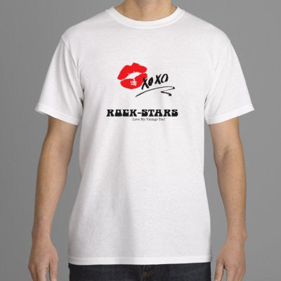 Rock-Star Graphic Tee Shirts: All Unisex Sizes!