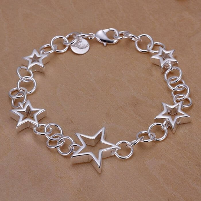 The Stars, Pretty & Simple Star Bracelet.