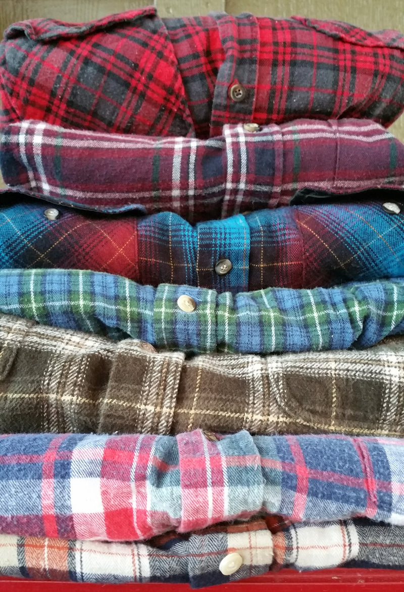 Flannel Shirts, Mystery Flannels, All Colors & Sizes!!
