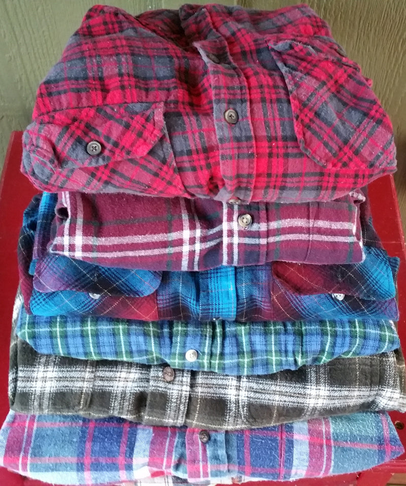 MYSTERY, Mystery Vintage Flannels Shirts, All Colors & Sizes.
