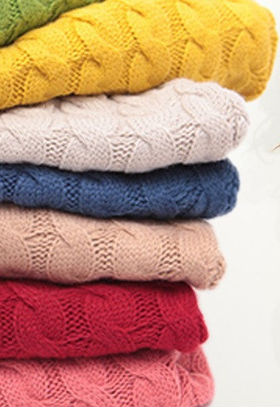 SALE - Solid Color Sweaters For Fall & Winter, all Sizes & Styles Available.